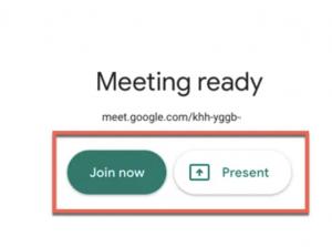 Google meeting ready