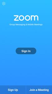 Apps Zoom Meeting