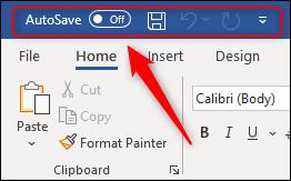 toolbar akses cepat