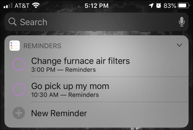 Cara Cepat Membuat Reminder di iPhone dan iPad 1