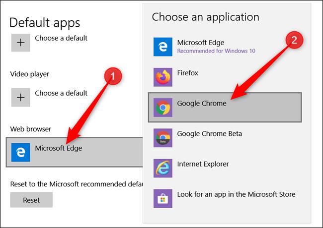 Google Chrome Sebagai Browser Default 3