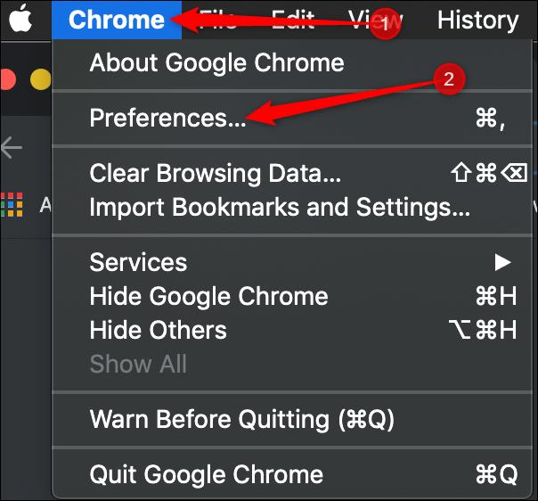 Google Chrome Sebagai Browser Default 4