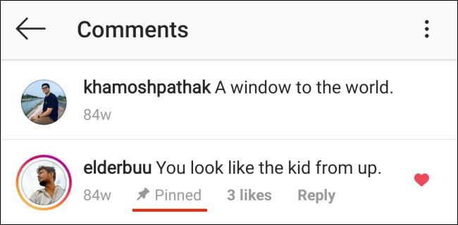 Cara Pin Komentar Instagram di Android 4