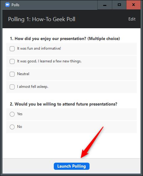 10. Cara Membuat Polling di Zoom