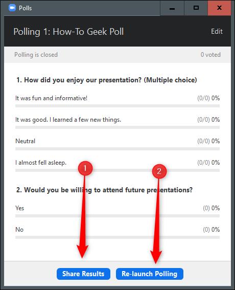 12. Cara Membuat Polling di Zoom