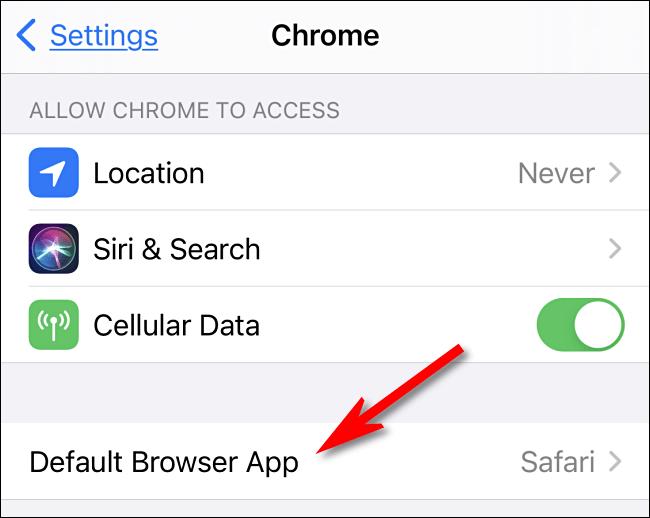 3. Cara Mengubah Default Browser di iPhone dan iPad