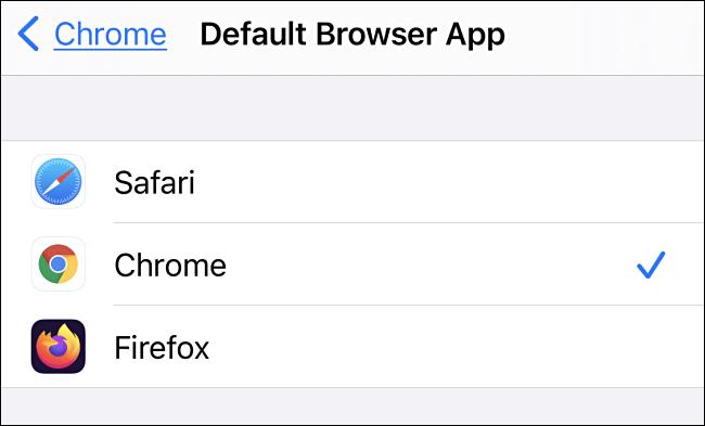 4. Cara Mengubah Default Browser di iPhone dan iPad