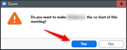 7. cara menjadikan Co Host di Zoom Meeting