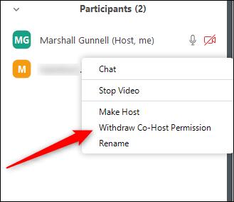 9. cara menjadikan Co Host di Zoom Meeting
