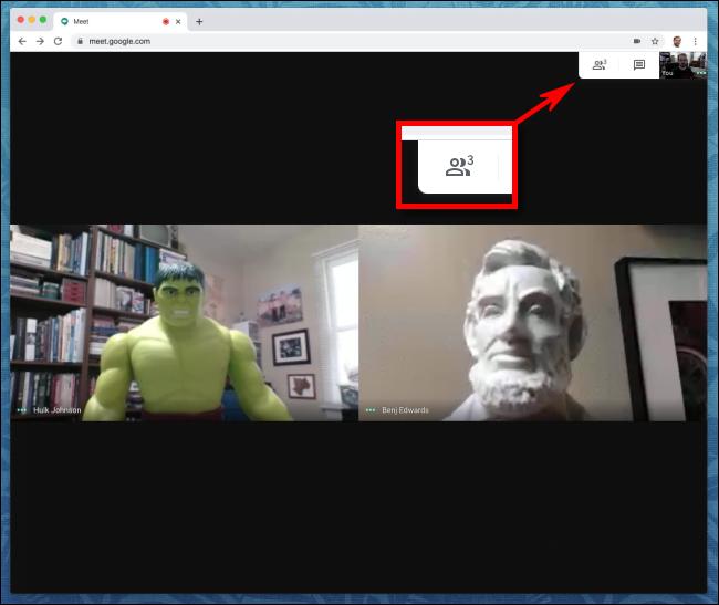 1. Cara Mute Seseorang di Google Meet