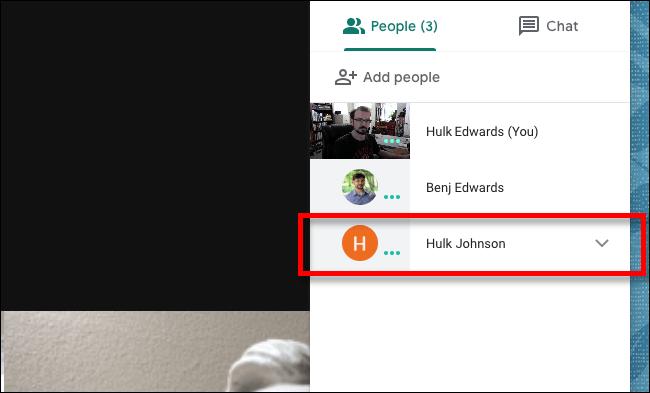 2. Cara Mute Seseorang di Google Meet