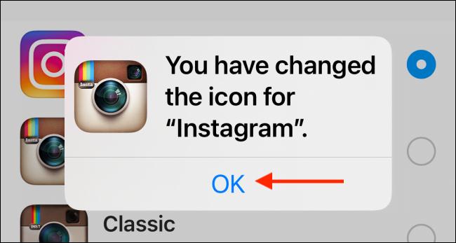 7. Cara Mengubah Ikon Aplikasi Instagram di iPhone