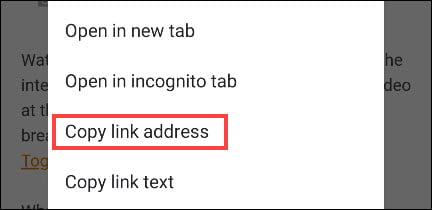 9. Cara Copy Paste Teks Link dan Foto di Android