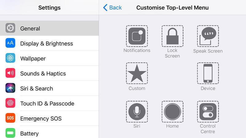3. Cara Menampilkan Tombol Home di iPhone