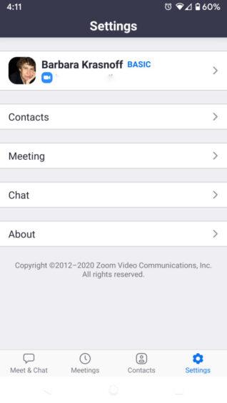 3 Mengubah nama profil Anda di Zoom scaled