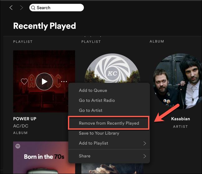 3. Cara Menghapus Daftar Recently Played Spotify