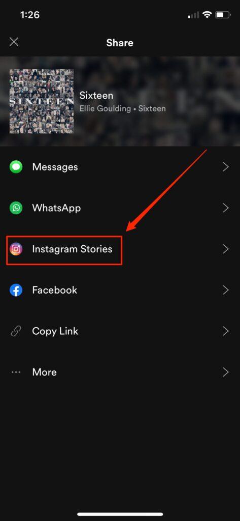 3. Cara Menyambungkan Spotify ke Instagram