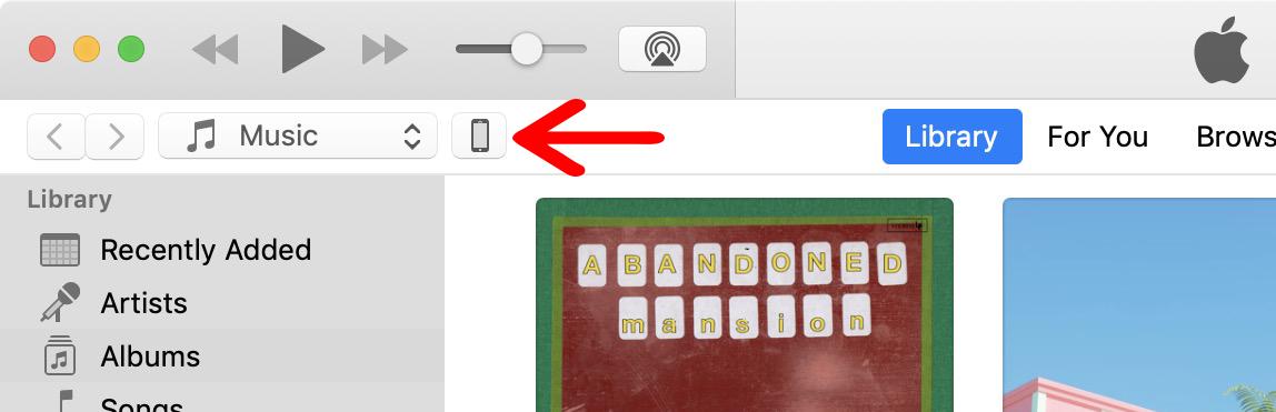 1. Cara Back Up iPhone ke iTunes di Mojave atau Sebelumnya
