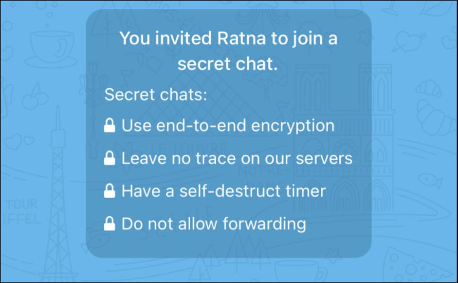 1. Cara Menggunakan Secret Chat di Telegram