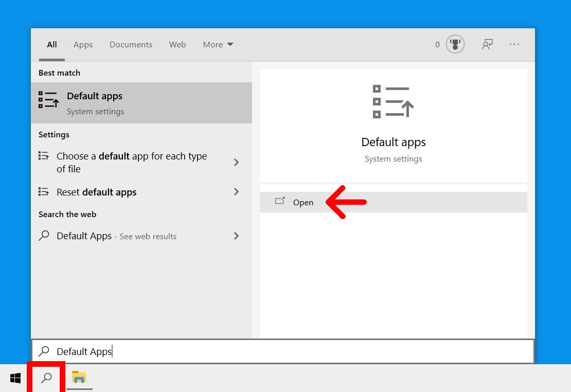 1. Cara Mengubah Default Browser di Windows 10