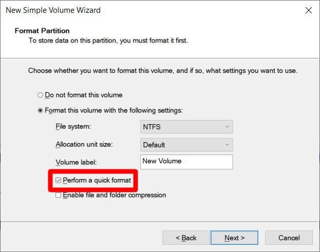 10. Cara Mempartisi Disk Eksternal di Windows 10