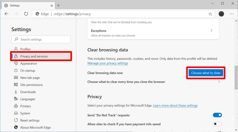 17. Cara Menghapus Riwayat Pencarian di Chrome Safari Firefox dan Edge