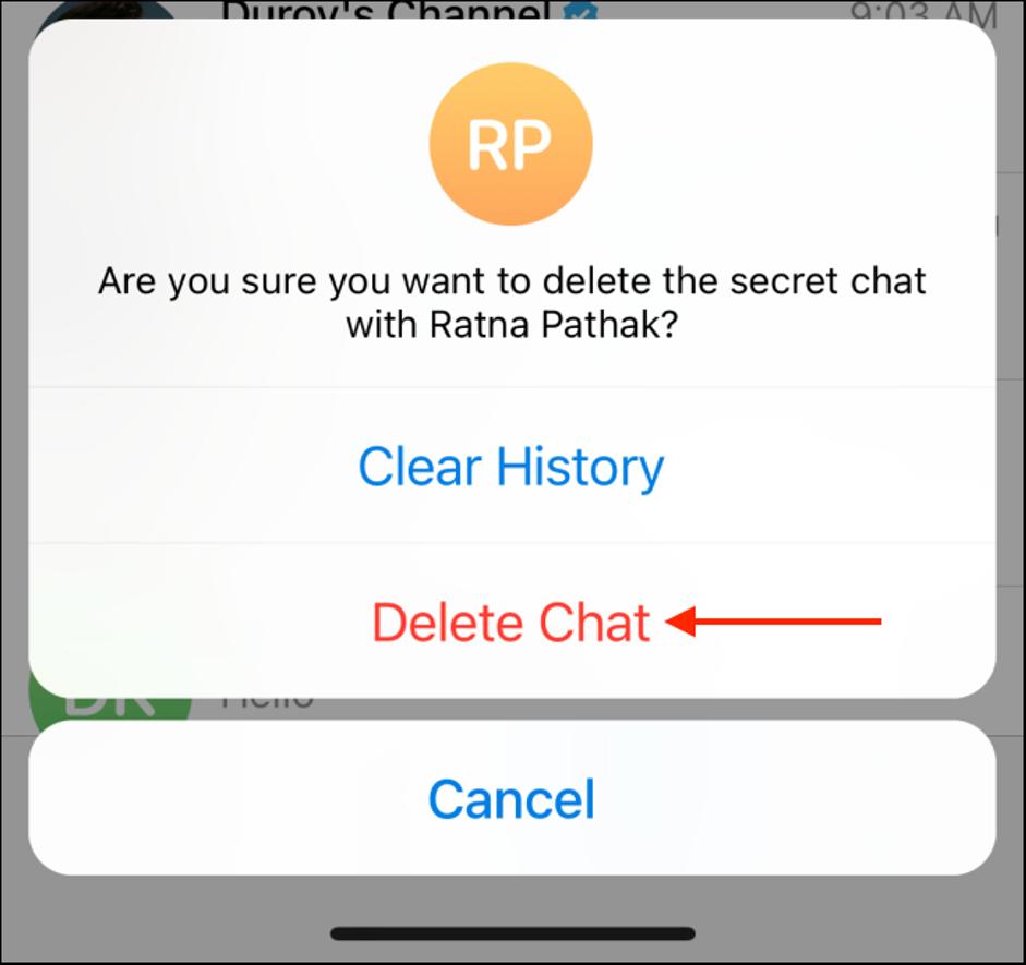 18. Cara Menggunakan Secret Chat di Telegram