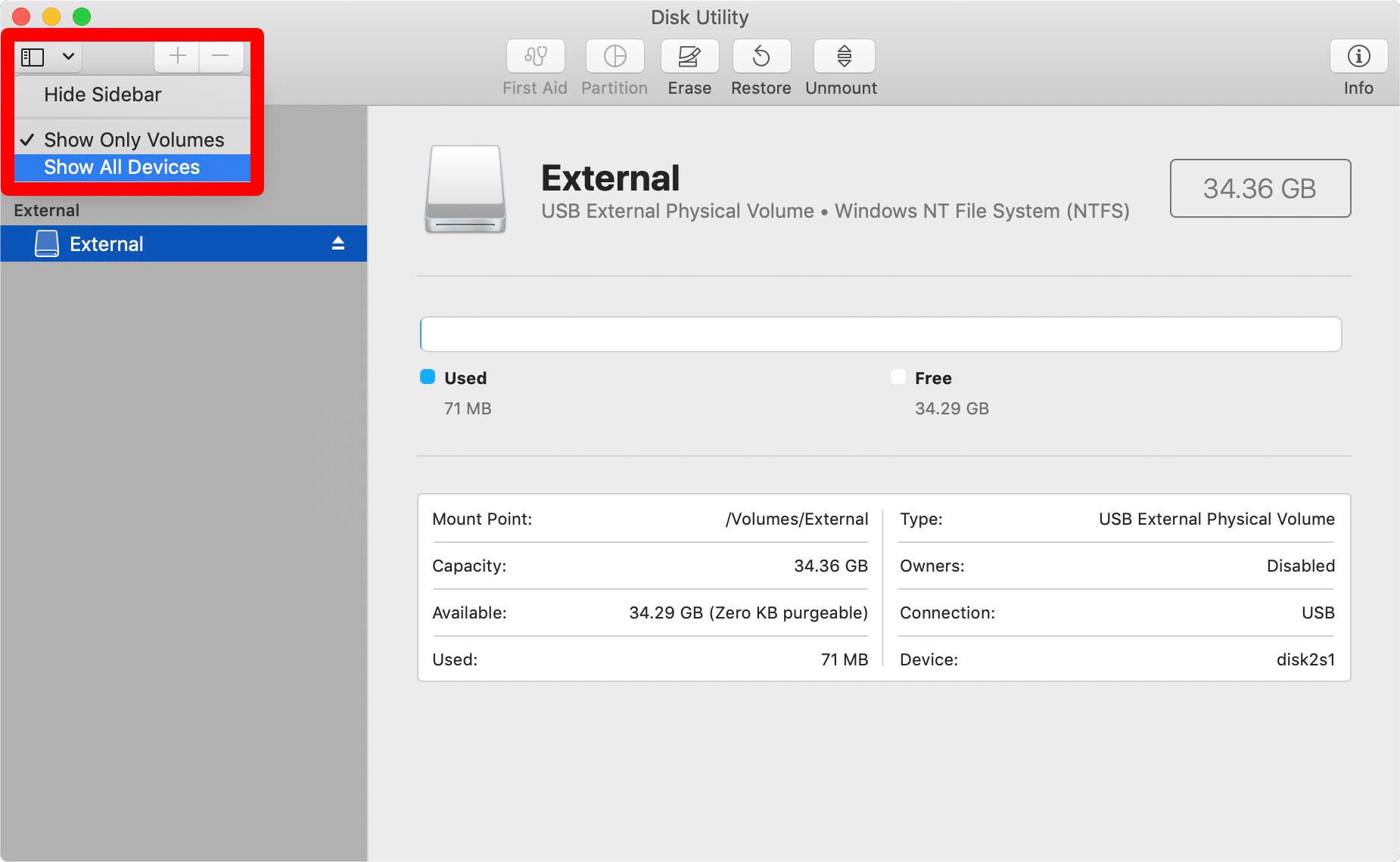 2. Cara Format Hard Disk Eksternal untuk Mac