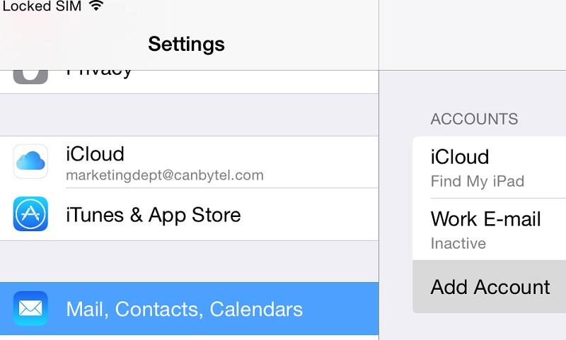 2. Cara Import Kontak dari Gmail ke iPhone