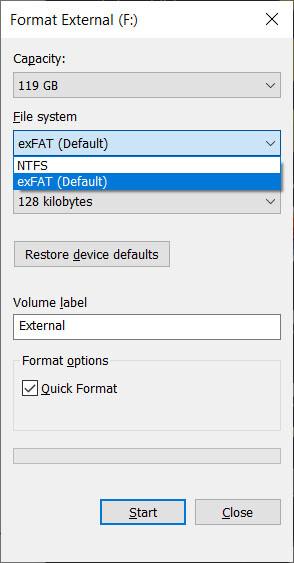 2. Cara Memformat Hard Disk Eksternal di Windows 10