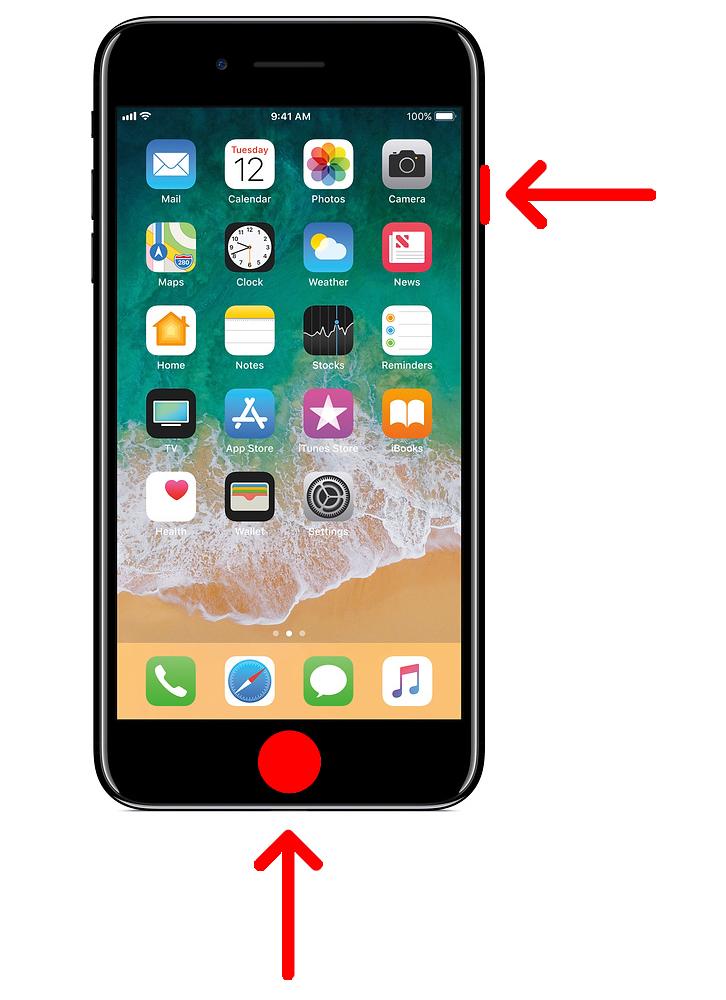 2. Cara Mengambil Screenshot di iPhone
