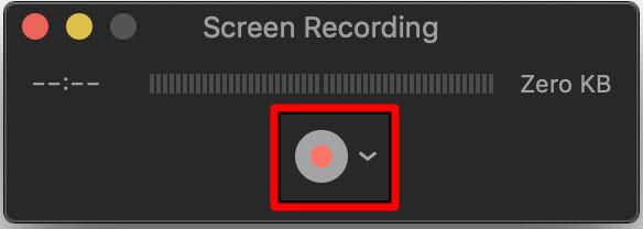 2. Cara Screen Record MacBook
