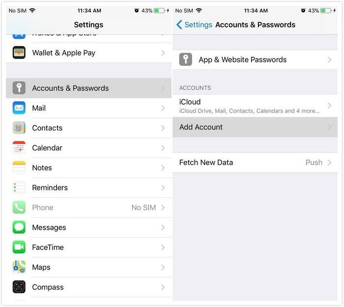 2. Cara Transfer Kontak dari Android ke iPhone dengan Akun Google