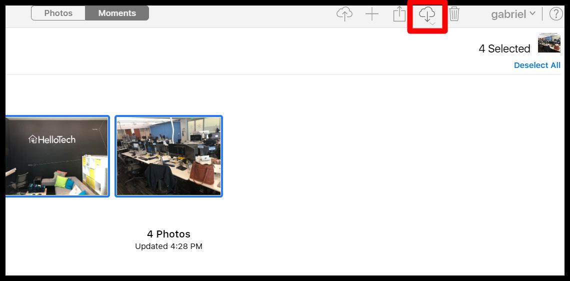 3. Cara Mentransfer Foto dari iPhone ke Macbook Menggunakan iCloud