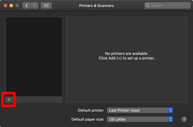 3. Cara Menambahkan Printer ke Mac melalui WPS