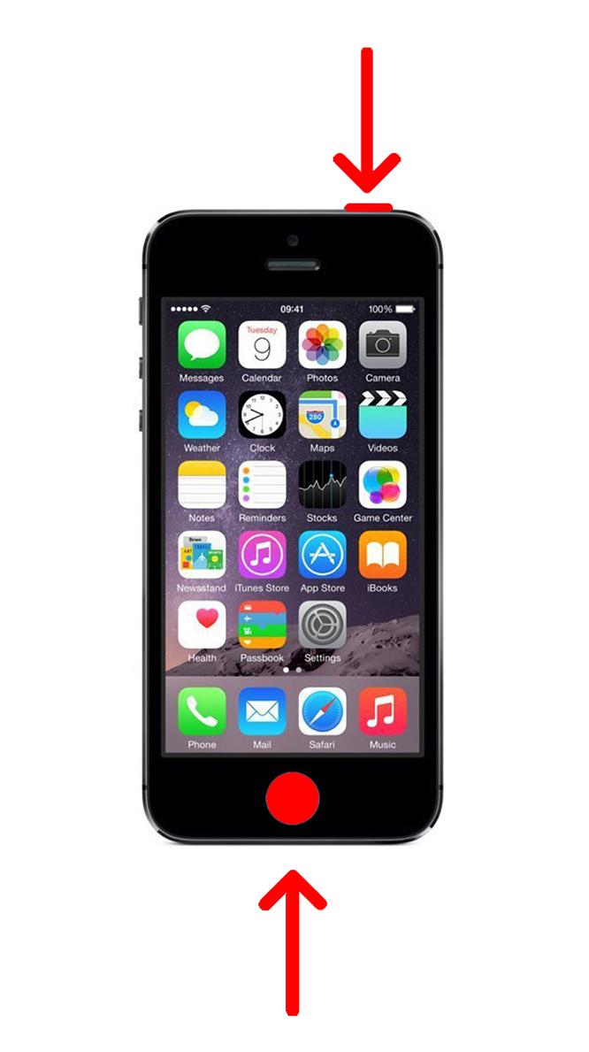 3. Cara Mengambil Screenshot di iPhone