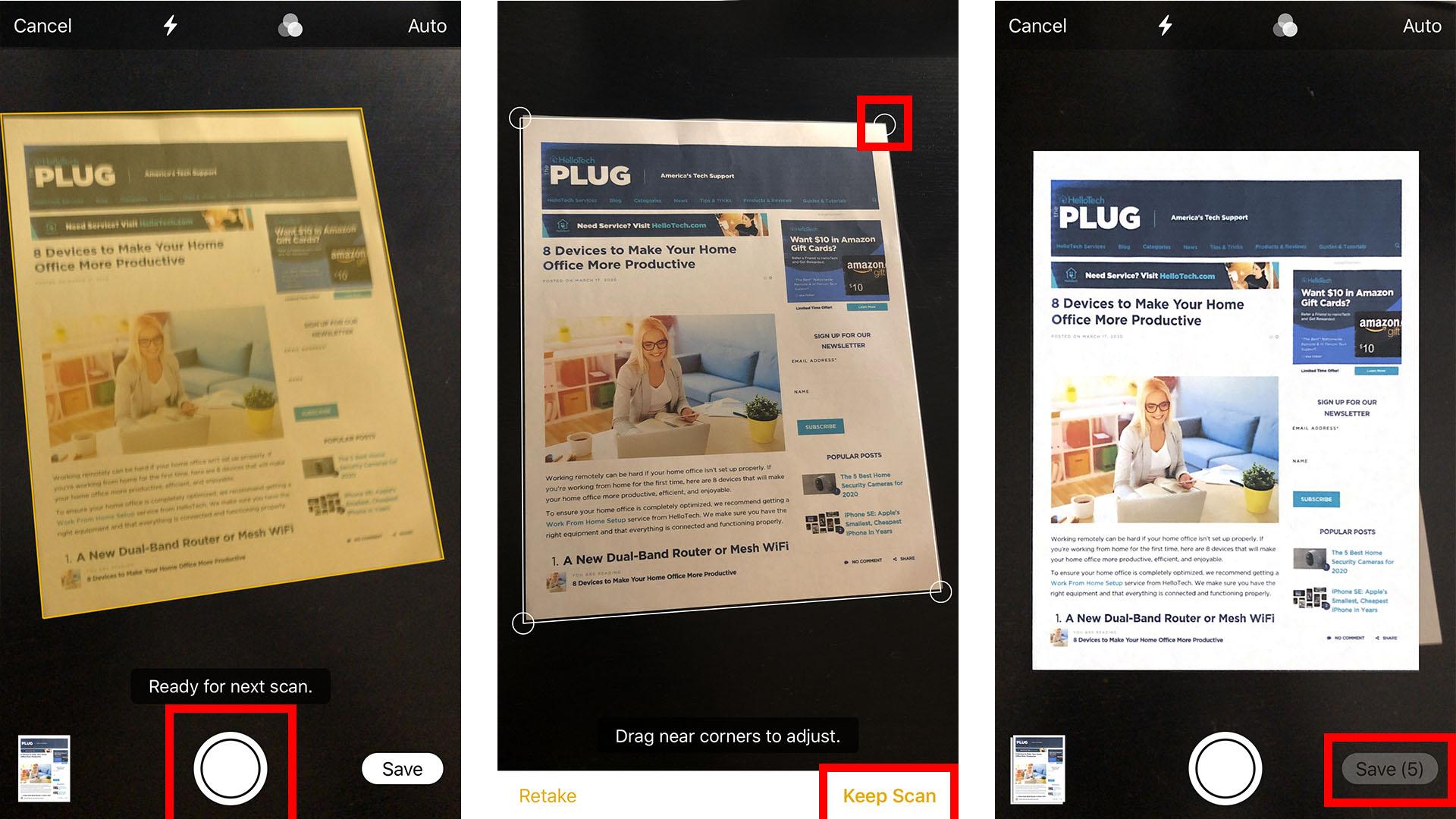 3. Cara Scan Dokumen di iPhone atau iPad