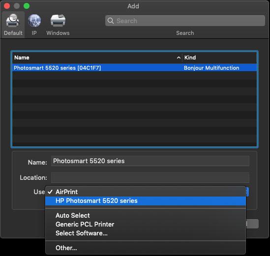4. Cara Menambahkan Printer ke Mac melalui WPS