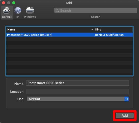 5. Cara Menambahkan Printer ke Mac melalui WPS