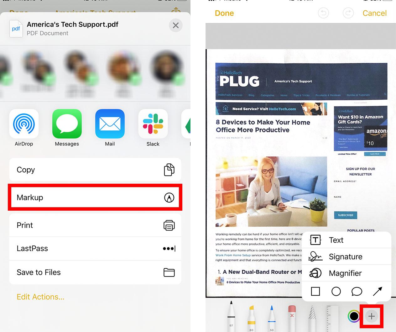 5. Cara Scan Dokumen di iPhone atau iPad