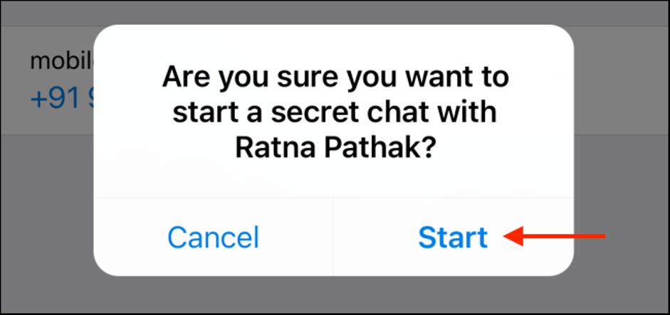 6. Cara Menggunakan Secret Chat di Telegram
