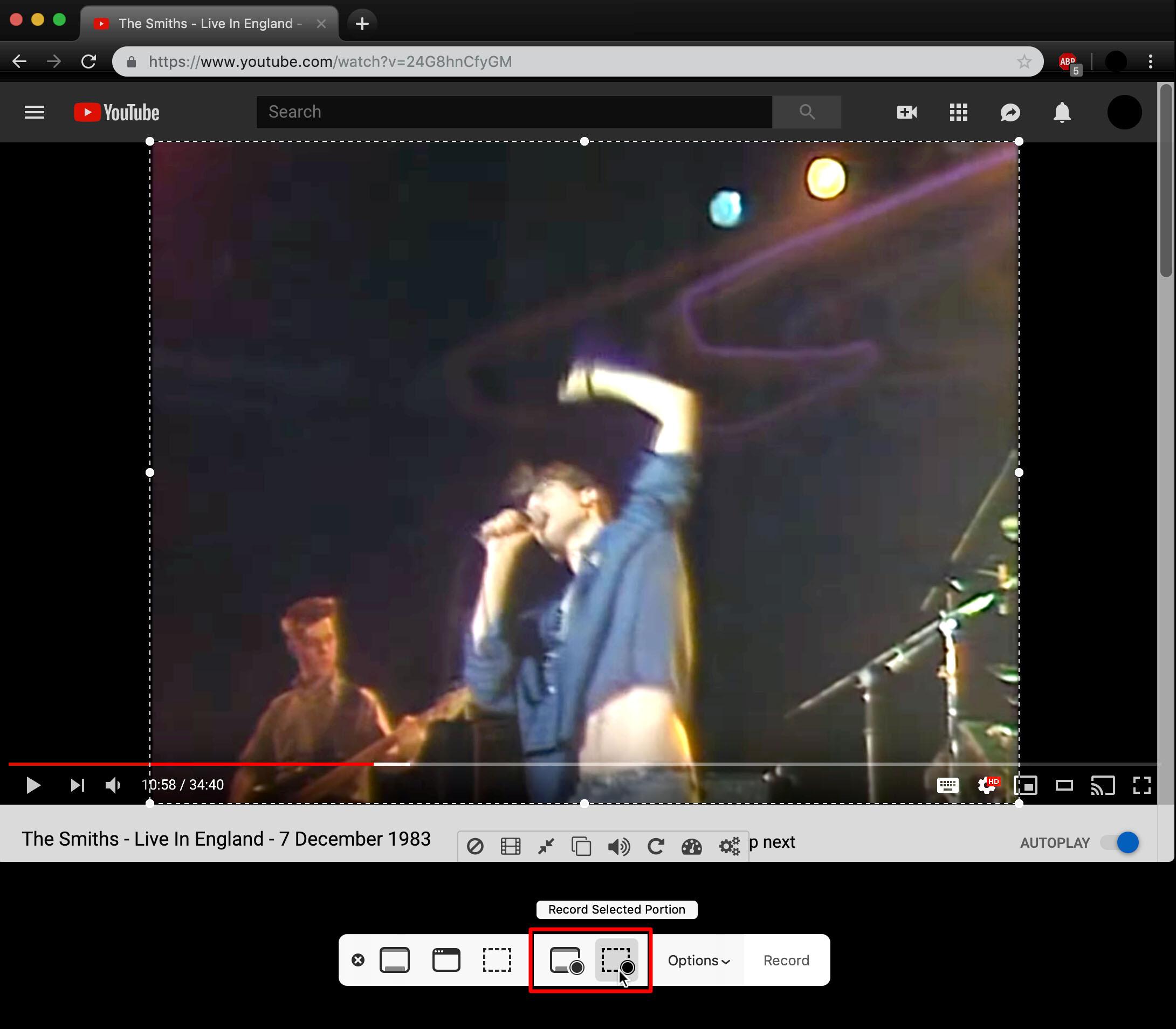 6. Cara Screen Record MacBook