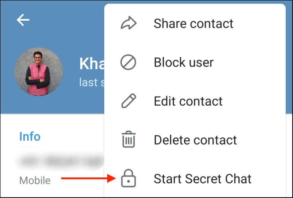9. Cara Menggunakan Secret Chat di Telegram 1 1