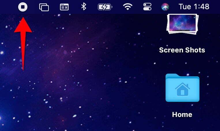 2. Cara Screen Record di Mac Menggunakan Capture Tool