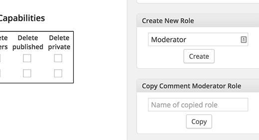 2. Membuat custom role user