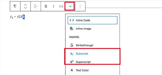 2. Menambahkan Karakter Matematika Unicode di Mac