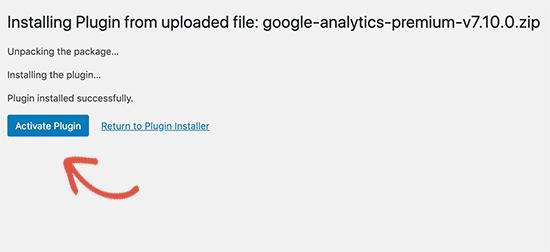 5. Cara Memasang Plugin di WordPress melalui menu Upload Plugin