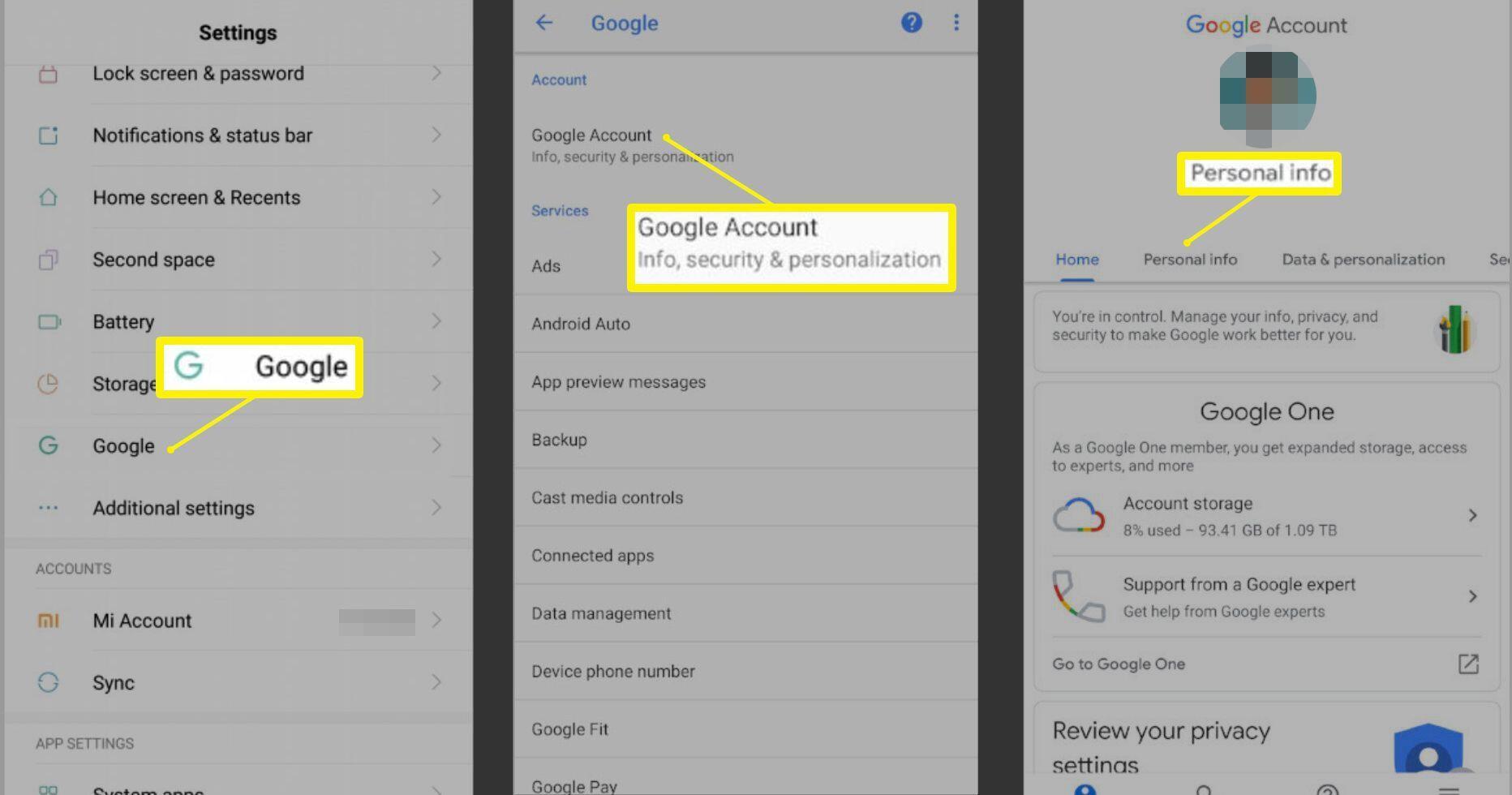 Cara Mengubah Nama Akun Google