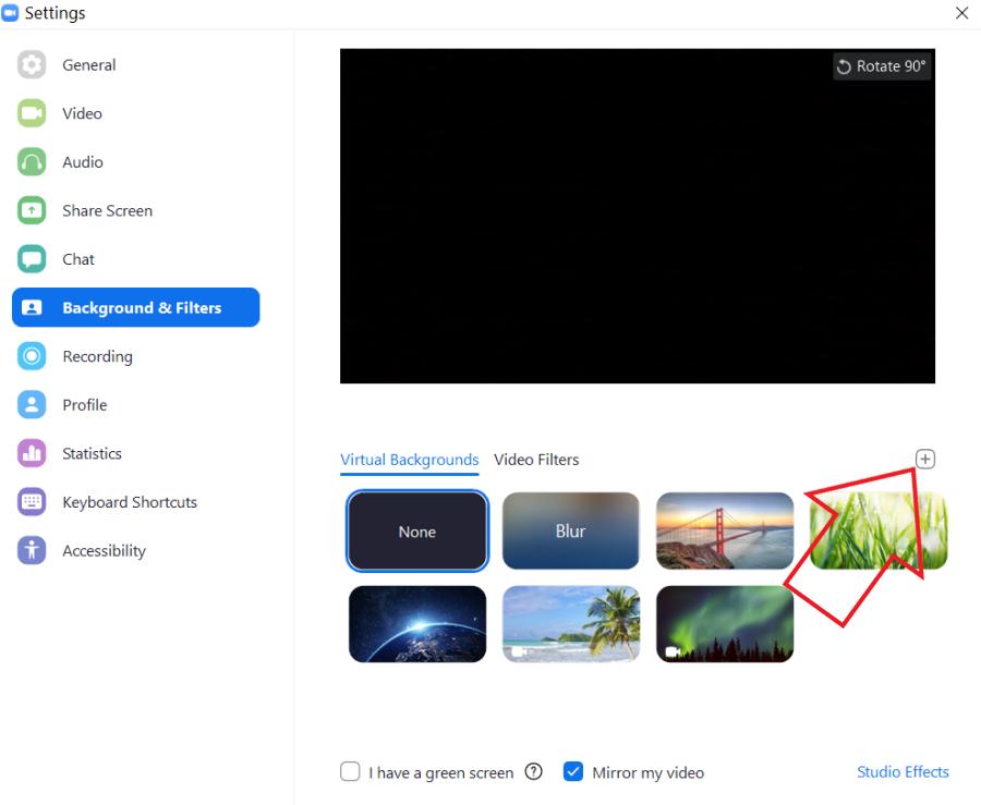 11. Cara Membuat Background Blur di Zoom