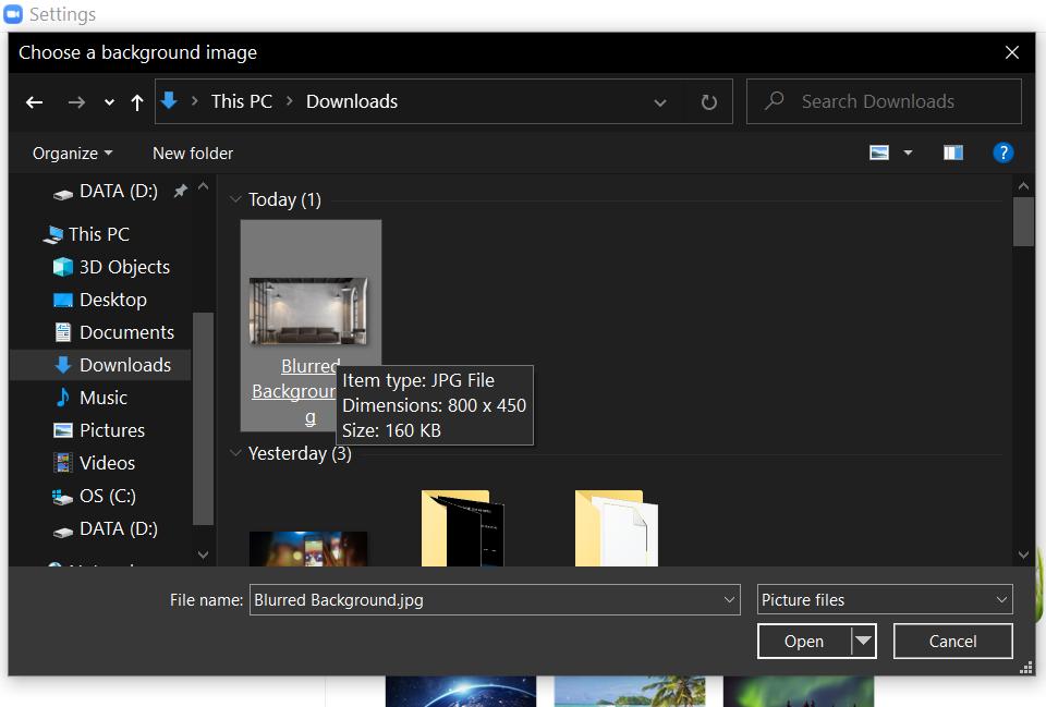 12. Cara Membuat Background Blur di Zoom
